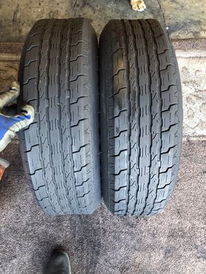 185/80/13 trailer tires for Sale in Riverside, CA