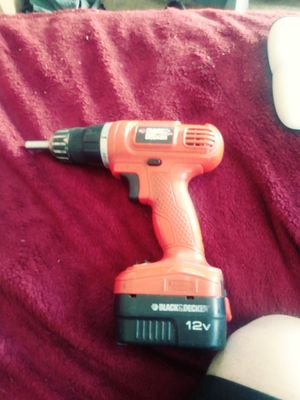 Black Decker drill for Sale in Cleveland, OH