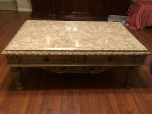 Marble coffee table and end table for Sale in Stockton, CA