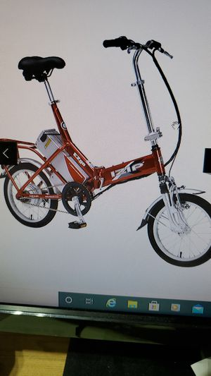IZIP EZGO FOLDING BIKE for Sale in West Windsor Township, NJ