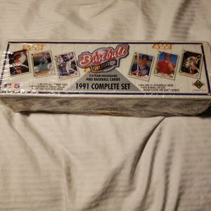 1991 Upper Deck Baseball Cards, New, Seal Box, Complete for Sale in La Puente, CA
