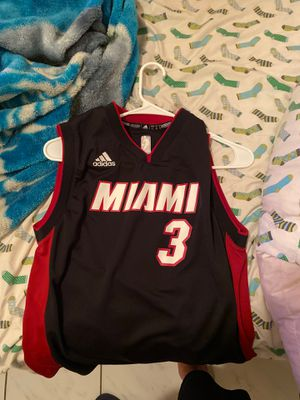 Dwayne wade miami heat jersey 2013 untouched for Sale in Florida City, FL
