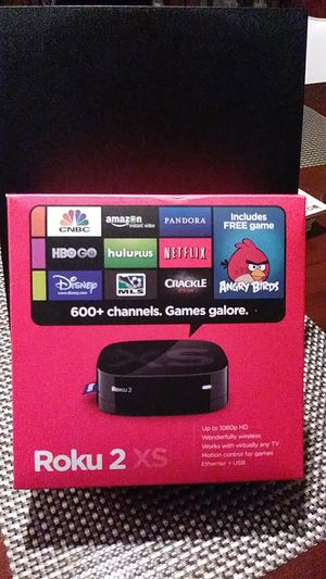 Roku 2 XS display Open Box for Sale in Greensboro, NC