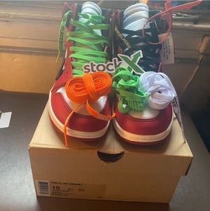 Air Jordan's 1's Offwhite Chicago's for Sale in St. Peters, MO