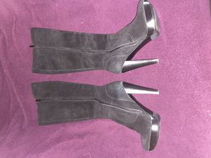 Black Suede Calvin Klein Boots for Sale in Philadelphia, PA