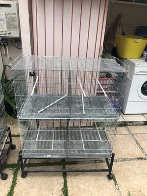 Cages. 36 in X 18in X 18 in for Sale in Cutler Bay, FL