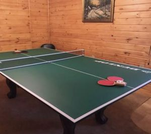 Table Tennis Ping Pong Game Conversion Table Top, Pre-assembled, Includes Premium Net and Post (New) for Sale in Beverly Hills, CA