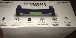 Mozzie Hoverboard with Bluetooth Speakers - Black for Sale in Clarksville, TN