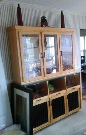 Complete Oak Dining Room Set for Sale in Baltimore, MD