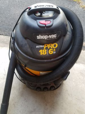 Shop Vac - 18 Gallons - Wet/Dry Vac for Sale in South Windsor, CT