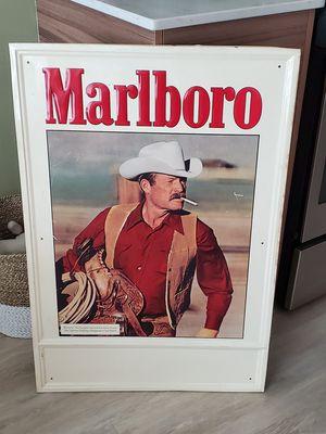 1970s Marlboro Tin Sign RARE!! for Sale in Silver Spring, MD