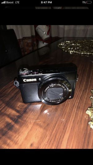 Canon power shot g7x mark i WIFI CONNECT for Sale in Fullerton, CA