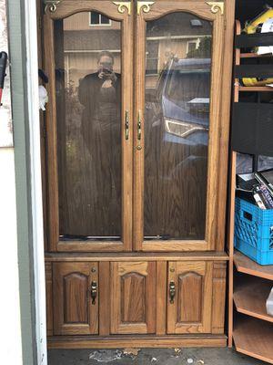 Antique gun cabinet for Sale in West Linn, OR