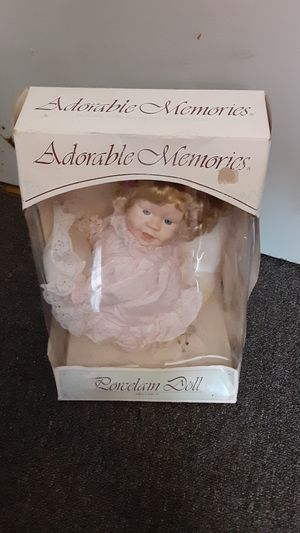 Adorable,Memories-Porcelain Doll for Sale in Albuquerque, NM