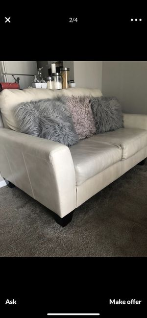 Couch and love seat with coffee table for Sale in Columbus, OH