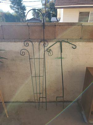 Plant Trellis and Hanging Rods (Please Read Description) for Sale in Phoenix, AZ