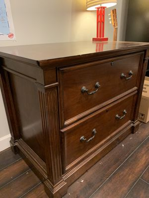 Solid wood file cabinet for Sale in Edgewood, WA