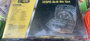 125 pcs drill bit set for Sale in New Houlka, MS