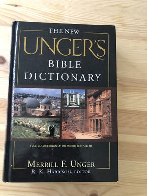 Unger's Bible Dictionary for Sale in Plainville, CT