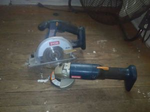 Hand saw and grinder for Sale in Detroit, MI