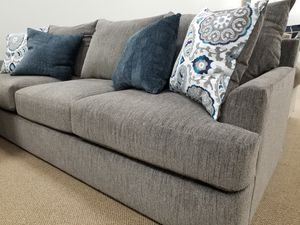 NEW! Lane 8540 Sofa in Grandstand Flannel (Matching Chair and Ottoman Available) for Sale in Clayton, NC