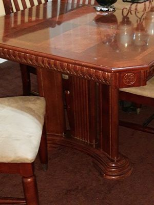 Dining room table china cabinet for Sale in Burlington, NJ