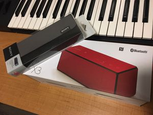 Red Sony SRS-X33 Bluetooth Speaker for Sale in Austin, TX