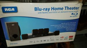 DVD Home Theater System W/ HDMI 1080p Output 8 Pcs 5.1 Surround Sound for Sale in Delray Beach, FL