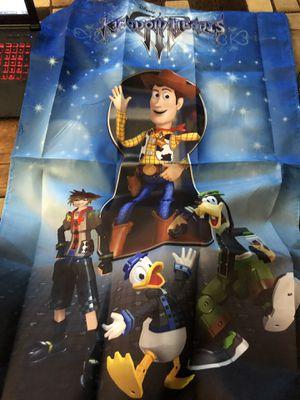 Martial Kingdom Hearts 3 flag. for Sale in Las Vegas, NV