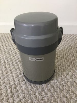 Zojirushi classic Bento vacuum lunch jar with 4 boxes for Sale in Lewis Center, OH