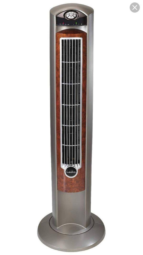 "Lasko Whirlwind 42"" 3 Speed Oscillating Fan with Remote"