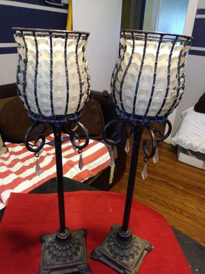 Home interior candle holder for Sale in Fort Worth, TX