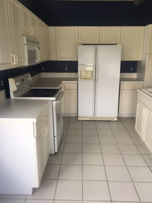 Refrigerator dishwasher stove and cabinets for Sale in Boynton Beach, FL