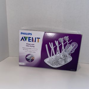 Philips Avent Baby Bottle Drying Rack Clean and Tidy Dish Drainer New In Box for Sale in Camas, WA