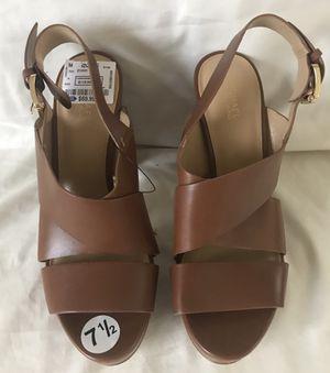 Michael Kors Leather Strap Platform Heel Shoes for Sale in Boca Raton, FL