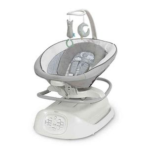 Graco Sense2Soothe Baby Swing with Cry Detection Technology in Sailor - White for Sale in Warren, MI