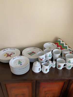 Christmas dinner set for Sale in Pinellas Park, FL