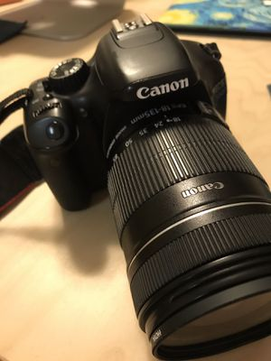 Cannon EOS 550 D cambers body & lens 18-135mm for Sale in Silver Spring, MD