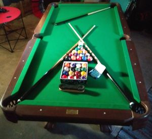 7ft non slate pool table for Sale in San Angelo, TX