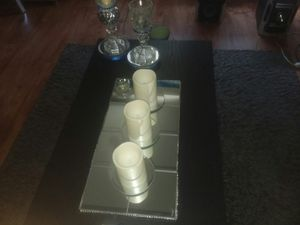 Mirrored table runner for Sale in Peoria, IL