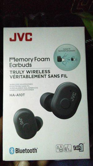 JVC memory foam ear buds for Sale in Spokane, WA