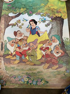 "Vintage Snow White póster 24x18"" for Sale in San Bernardino, CA"