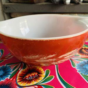 "Pyrex wheat print vintage bowl ~ 7 1/2"" for Sale in Mount Hamilton, CA"