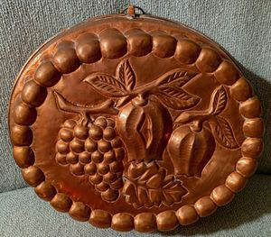Large Antique Copper Cake Mold for Sale in Falls Church, VA