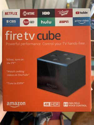 Brand New Fire TV Cube for Sale in Los Angeles, CA