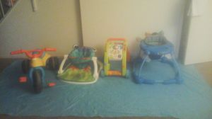 Used Kid toys $20 sz1 boy converse $25 new for Sale in Fresno, CA