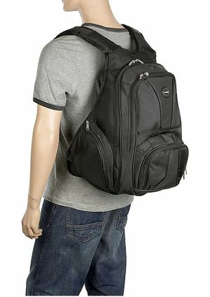 Contour backpack ergonomic, Utility pockets, polyester and genuine leather for Sale in Fontana, CA