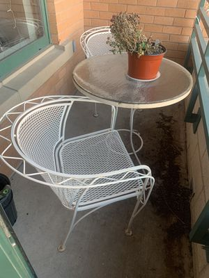 Wrought Iron Patio table/chairs! for Sale in Arlington, VA