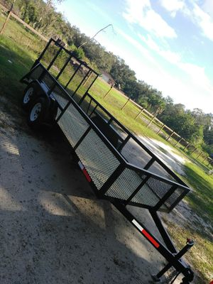 New trailer 6.4x16ft and 2 mesh for Sale in Fort Myers, FL