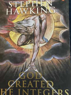 God Created The Integers By Stephen Hawking for Sale in Cupertino,  CA